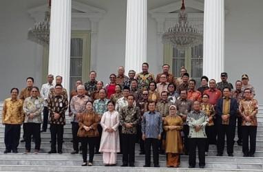Perpisahan Kabinet Kerja, Jokowi Minta Maaf Sering Telepon Tengah Malam