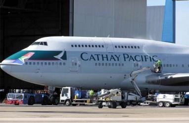 Imbas Demo di Hong Kong, Cathay Pacific Pangkas Proyeksi Pendapatan