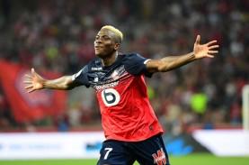 7 Gol, Victor Osimhen Top Skor Liga Prancis