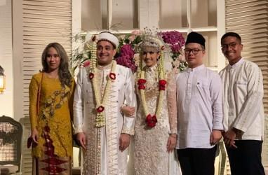 Tsamara Amany dan Ismail Fajrie Alatas Menikah, Ma'ruf Amin Saksinya