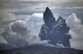 Gunung Anak Krakatau Erupsi Dua Kali Hari Ini