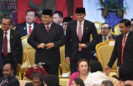 Hadiri Pelantikan Jokowi - Ma'ruf Amin, Prabowo - Sandi Tepati Janji