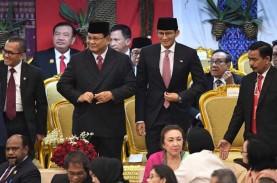 Hadiri Pelantikan Jokowi - Ma'ruf Amin, Prabowo -…