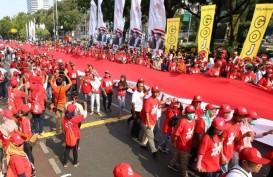 Foto Suasana Meriah dan Sarat Pesan Pawai Pelantikan Jokowi-Ma'ruf