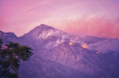 Kebakaran Rinjani, Kondisi Pendaki Dikabarkan Aman