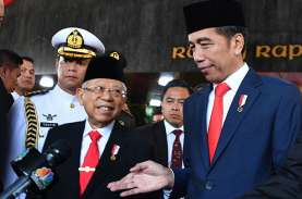 Pelantikan Presiden Lancar, Jokowi : Terima Kasih…