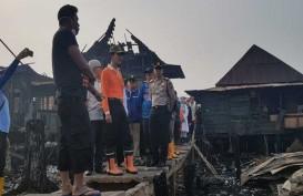 Walikota Harnojoyo Kunjungi Lokasi Kebakaran Gandus