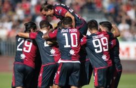 Hasil Liga Italia : Radja Bawa Cagliari Gusur Roma & Lazio, Dekati Napoli