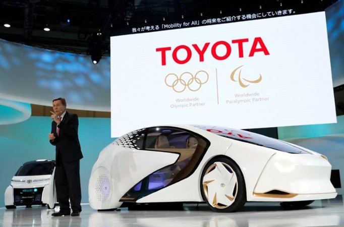 Toyota Motor Show 2017. - Reuters