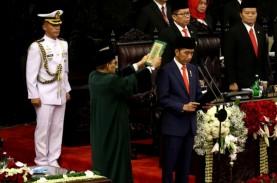 Kumpulan Foto Suasana Pelantikan Jokowi-Ma'ruf