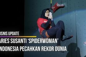 Aries Susanti 'Spiderwoman' Indonesia Pecahkan Rekor…