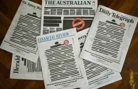 Surat Kabar Australia Kompak Protes Ancaman Kebebasan Pers di Halaman Depan