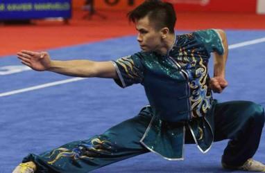 Hebat! Edgar Xavier Marvelo Raih Medali Emas Kejuaraan Dunia Wushu 2019