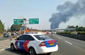 Pipa Pertamina di KM130 Tol Purbaleunyi Meledak, Pemadaman Berlangsung 6-12 Jam