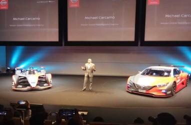 LAPORAN DARI JEPANG: Hadapi Musim Ke-6, Nissan Luncurkan Tampilan Baru Mobil Formula E
