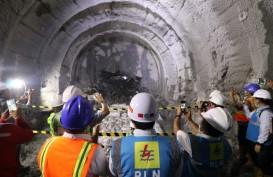 Tembus Headrace Tunnel, Konstruksi Proyek PLTA Jatigede capai 70 Persen
