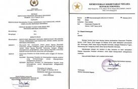 Presiden Jokowi Tunjuk Arminsyah Jadi Plt Jaksa Agung