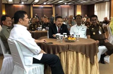 Jaksa Agung ST Burhanudin Lakukan Video Conference, Serah Terima Bukan Hari Ini