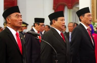 Resmi Jadi Menhan, Prabowo Sebut Masih Perlu Belajar