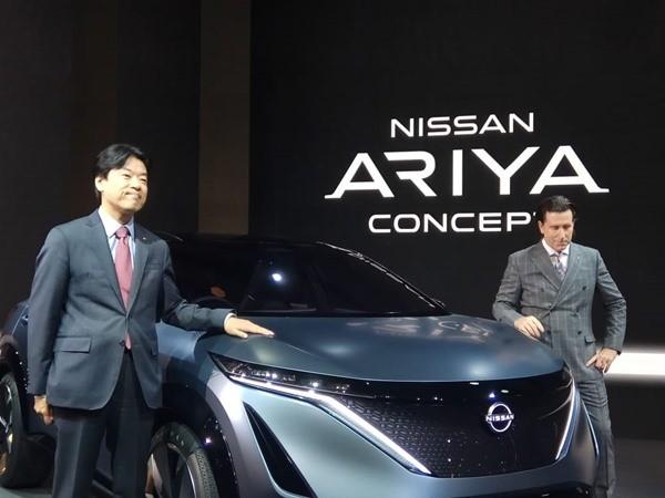 Nissan Ariya. BISNIS - Fahmi Achmad