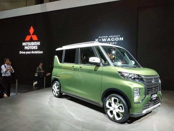 Mobil konsep Super Height K-Wagon yang diproduksi Mitsubishi Motors Corporation yang diluncurkan di ajang Tokyo Motor Show 2019, Rabu (23/10/2019). BISNIS - Inria Zulfikar