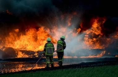 Pipa Pertamina Terbakar di Cimahi, Kementerian PUPR Kirim Tim Investigasi