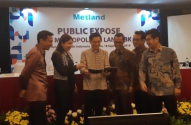 Metropolitan Land (MTLA) Realisasikan 62,72 Persen Target Marketing Sales