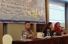 Bestprofit Futures Bandung Cetak Pertumbuhan Nasabah hingga 75,86 Persen