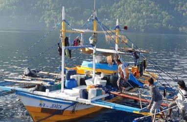 KKP Amankan Tiga Kapal Penangkap Ikan Ilegal Asal Filipina