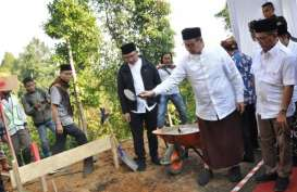 Masjid Senilai Rp5 Miliar Dibangun di Kawasan Wisata 'Negeri di Atas Awan'