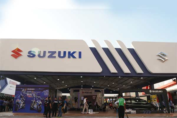 Stan Suzuki di Jakarta Fair. - ISI