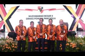 Jokowi Minta Pemuda Pancasila Jaga Pancasila