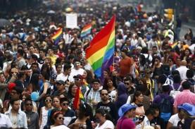 Usai Legalkan Pernikahan Sejenis, Ribuan Orang Ikut…