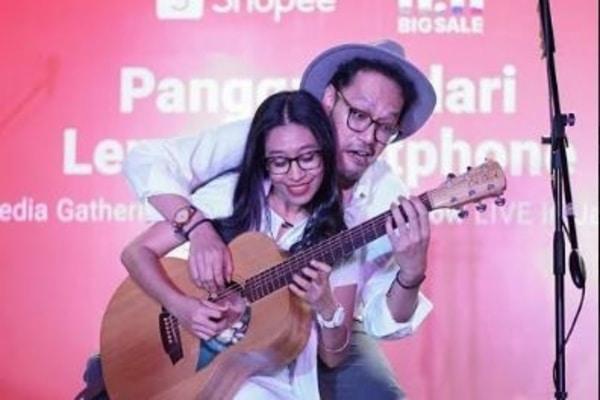 Duo Musisi Endah N Rhesa. - Dok Shopee Indonesia