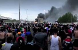 Unjuk Rasa di Irak Berlanjut, Korban Tewas Capai 190 Orang