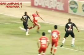 Persipura Tekuk Badak Lampung 1-0, kian Dekati Tiga Besar. Ini Videonya