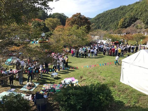 ove-Local diselenggarakan Daihatsu dengan konsep camping glam di Kota Chimyoko, Kawanishi, Jepang. BISNIS - M Abdi Amna