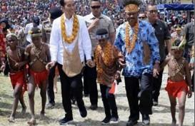 Kunjungi Wamena, Presiden Jokowi Targetkan Rehabilitasi Pasar Wouma Rampung 2 Pekan