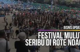Meriahnya Festival Mulut Seribu di Rote Ndao