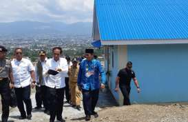 Presiden Jokowi Kunjungi Contoh Huntap Pascabencana Palu