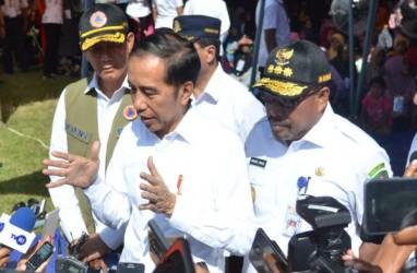 Presiden Jokowi Tinjau Pembangunan Hunian Tetap untuk Korban Gempa Palu