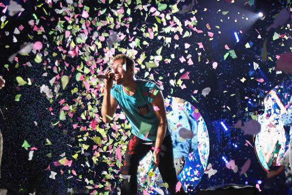Chris Martin vokalis Coldplay - Istimewa
