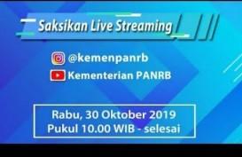 PENDAFTARAN CPNS: Ini Live Streaming Tata Cara Registrasi Online