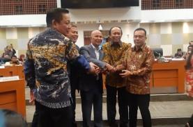 Beberapa Pimpinan Alat Kelengkapan Dewan DPR Disahkan