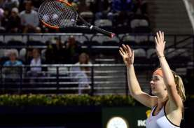 Hasil Tenis WTA Finals: Svitolina ke Semifinal, Andreescu…