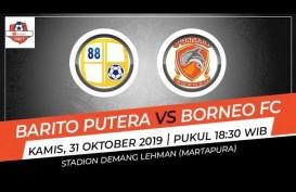 Barito Putera Tekuk Borneo FC 1-0, Dendam pun Terbayar Lunas. Ini Videonya