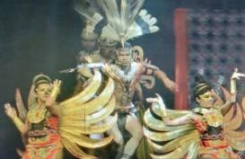 Tarian Dayak Kalteng Memukau di Bali