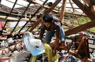 Puting Beliung Dominasi Bencana Hidrometeorologi Sepanjang 2019