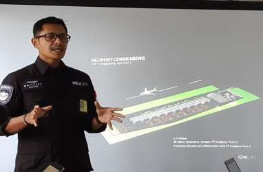 CEO Whitesky Geser Dirut Garuda Pimpin INACA
