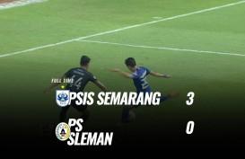 PSS Sleman Dihajar PSIS 0-3, Kelelahan Jadi Kambing Hitam. Ini Videonya